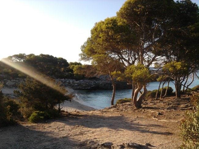 Cala Es Talaier en Menorca