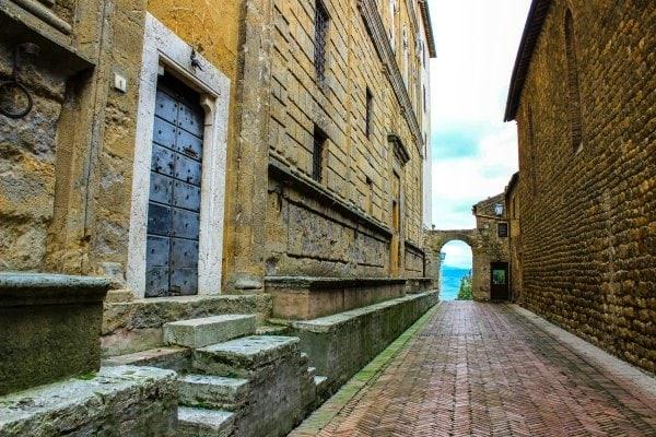 Paisajes de la Toscana Pienza