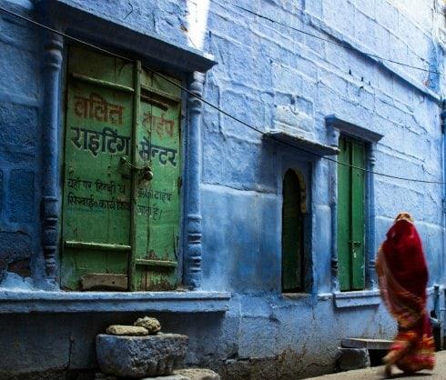 Mujer en Jodhpur, Rajasthan, India