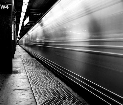 Foto del metro de Nueva York
