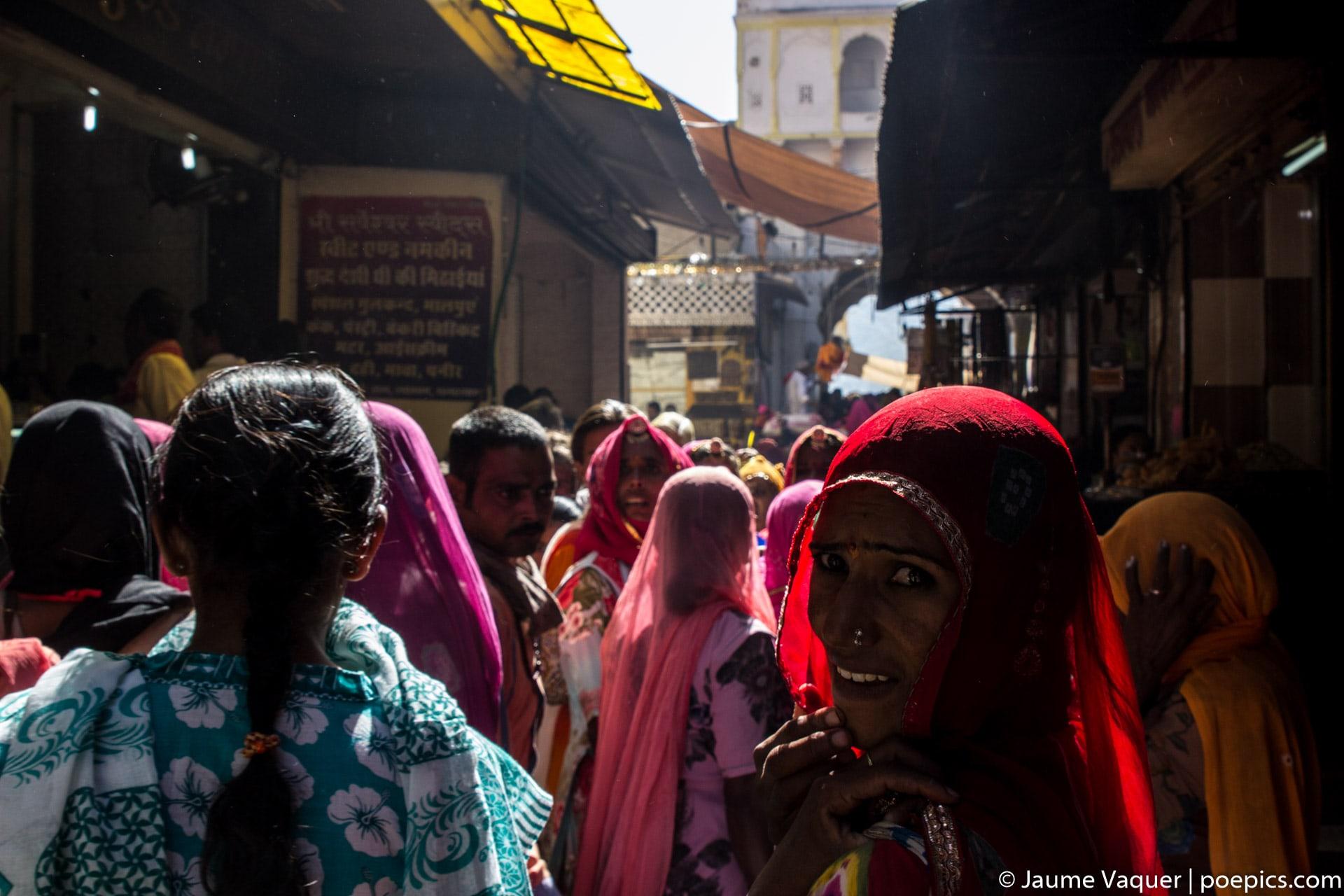 Calles de Pushkar, Rajasthan, India