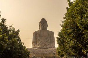 Estatua de 80 pies del Budha de Bodhgaya