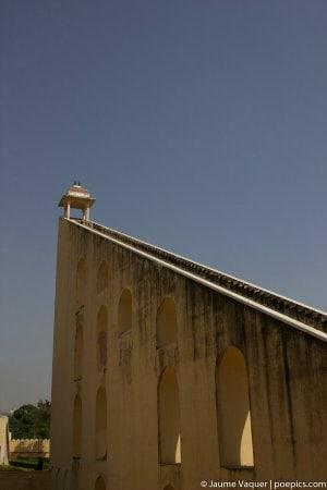 Instrumentos de medición astronómicos en Jaipur, Rajasthan, India
