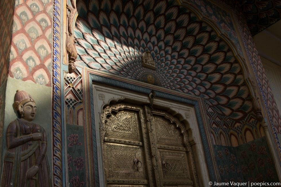 Palacio de Jaipur, Rajasthan, India