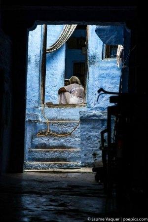 Calles de Jodhpur, Rajasthan, India