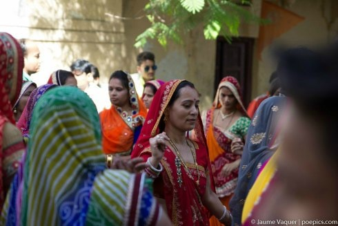 Festival hindú en Udaipur, Rajasthan, India