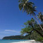 Playa en la isla de Koh Kood, Tailandia