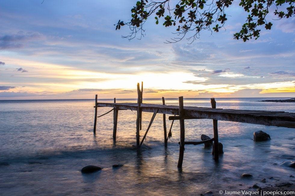 Atardeceres de Tailandia, puesta de Sol desde Koh Kood