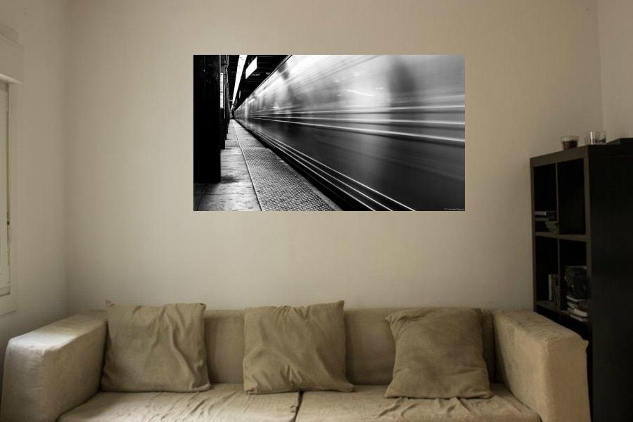 Como decorar un salón con fotografías