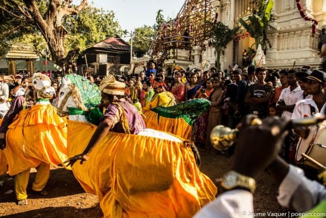 Hindu festival in Mawlamyine, Myanmar (Burma)