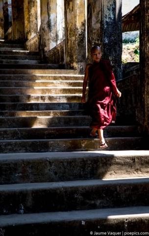 Monk in Mawlamyine, Myanmar (Burma)