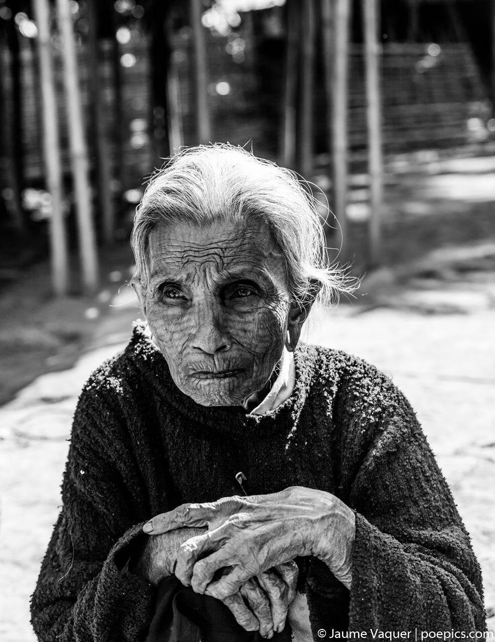 Chin woman in Myanmar Burma
