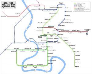Transporte de Bangkok Metro BTS Sky Train